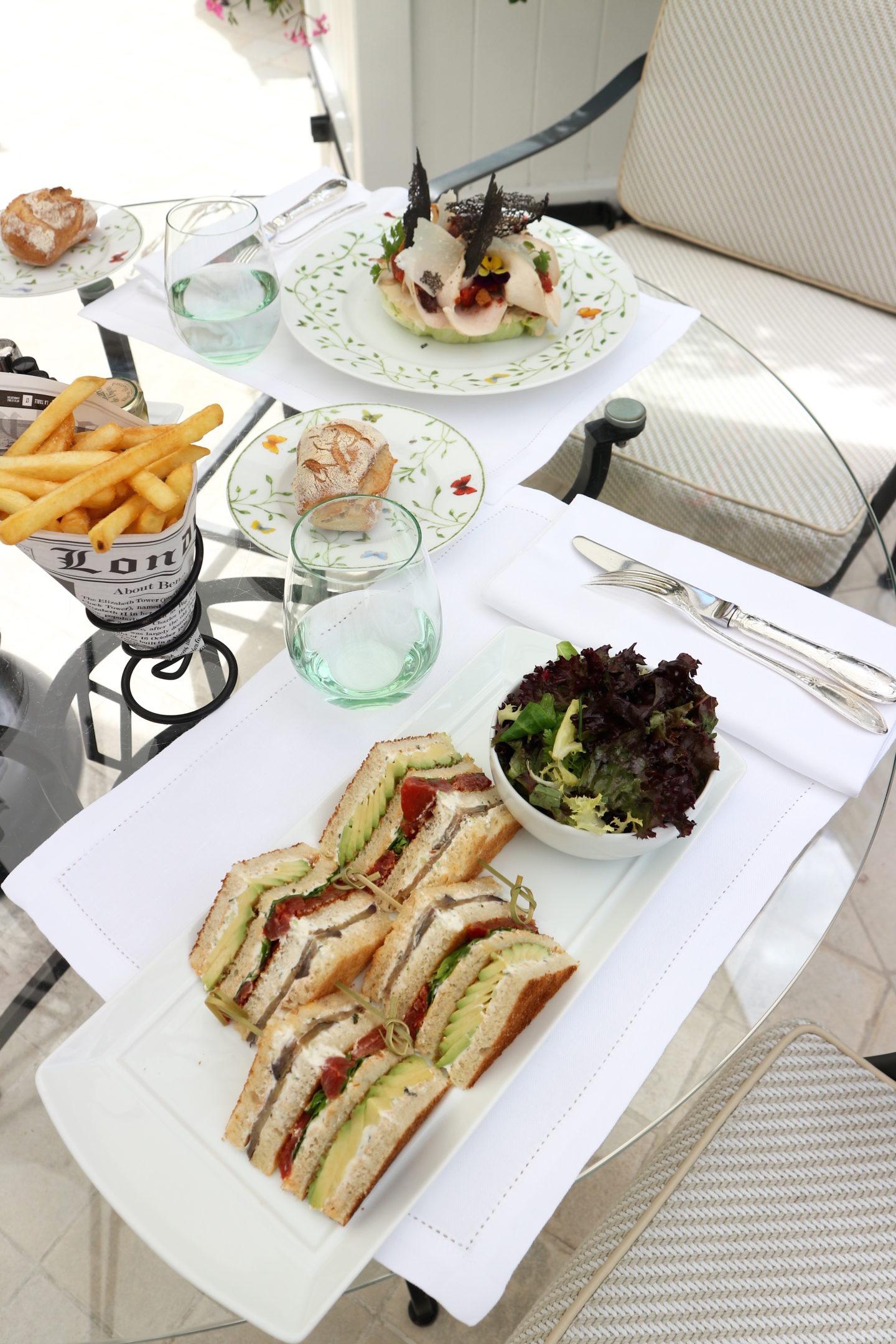 Une pause déjeuner au Jardin Français du Bristol