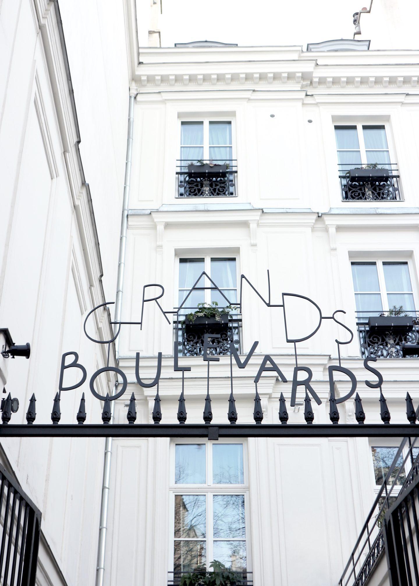 Lâcher prise à l'Hôtel des Grands Boulevards